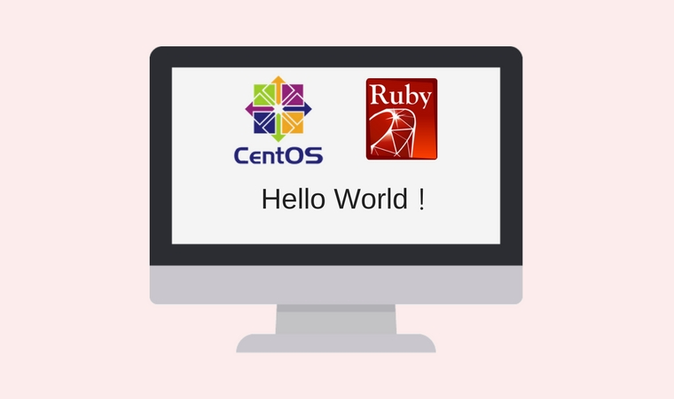 CentOS Ruby hello World