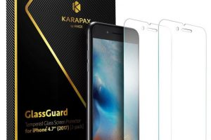 Anker KARAPAX GlassGuard iPhone 8/8 Plus 強化ガラス液晶保護フィルム
