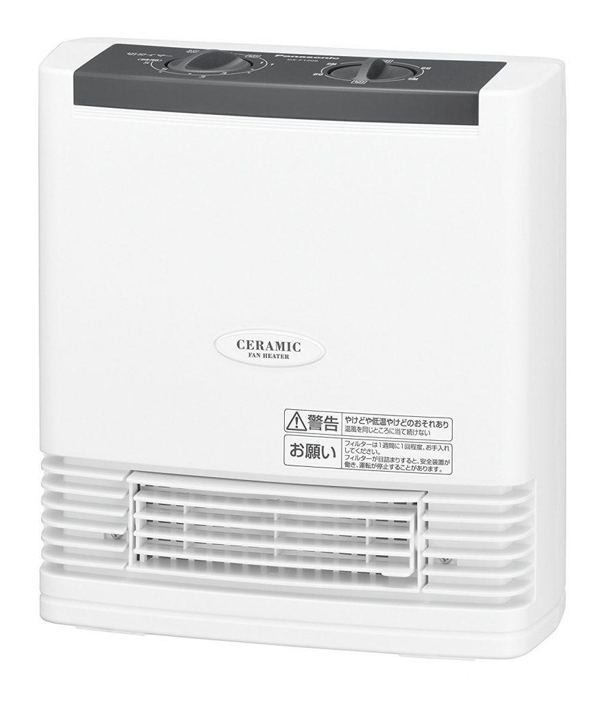 パナソニック セラミックヒーター ホワイト DS-F1206-W