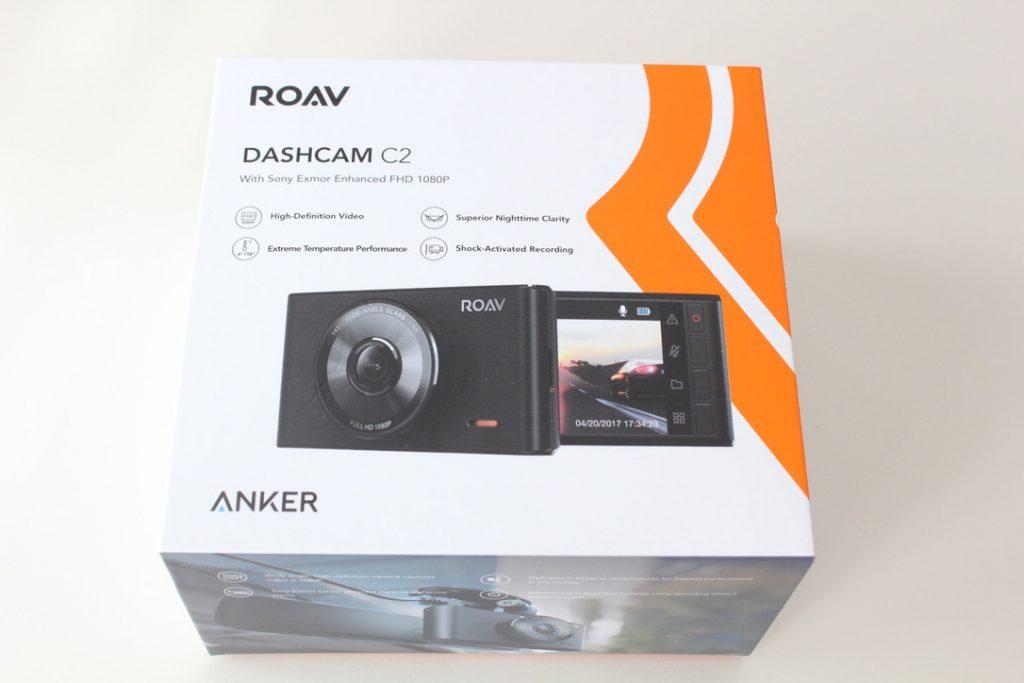 「Anker Roav DashCam C2」箱