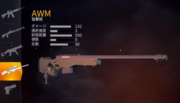 武器ランキング 荒野