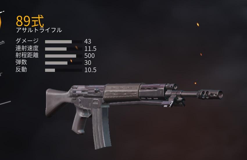 アサルトライフル 89式小銃
