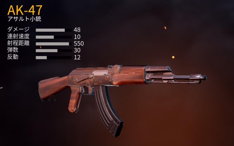 アサルト小銃「AK-47」