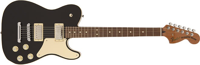Made in Japan Troublemaker Telecaster, Black