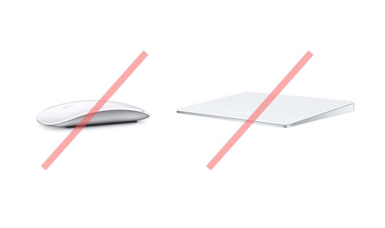 Magic Mouse 2、Track Padは非対応